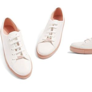 TOPSHOP LEATHER TENNIS shoes